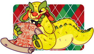 chompy christmas by irlnya