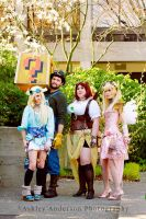 Steampunk Rosalina-first cosplay!!! by TheJung