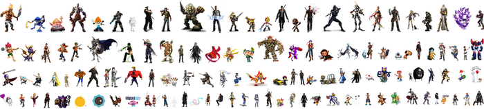 Playstation All Stars Battle Royale Character Pool by Salvy35z