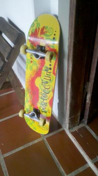 my new skateboard by dangzster