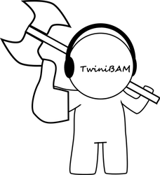 TwiniBAM Like with Axe by Super-MX