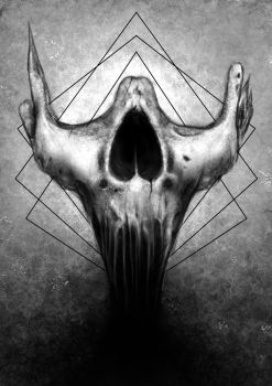 Skull part by Narcisse-Shrapnel