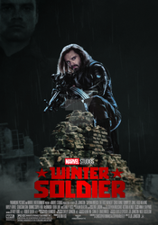 Marvel's Winter Soldier movie poster by ArkhamNatic