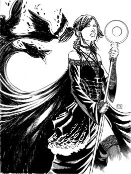 Nico Minoru Commission by thecreatorhd