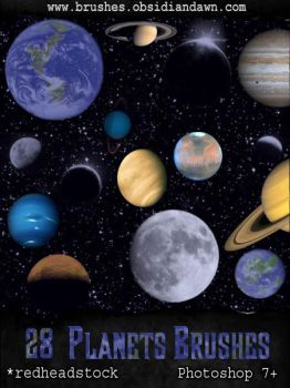 GIMP Planets Brushes by Project-GimpBC