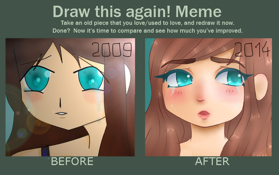Draw this Again Meme thingy! by HifeyNyan
