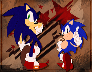 Sonic Forces by Drawloverlala