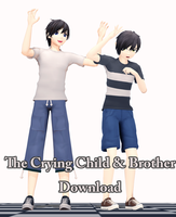 The Crying Child and Brother ver1.1. Download! by LizaSakura