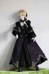 sabery new dollfie^^ by Lilithaya