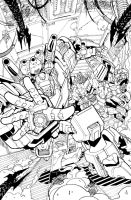 TF MTMTE 03 cover lineart by markerguru