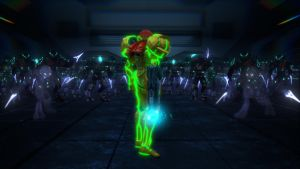 Samus Aran, I stand alone by Amalgamation100