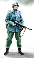 Wehrmacht soldier by anderpeich