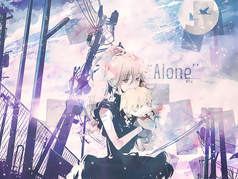 Wallpaper #1: ALONE by YuuriAoi
