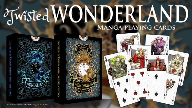 FANTASY WONDERLAND CARD DESIGN by Mistiqarts