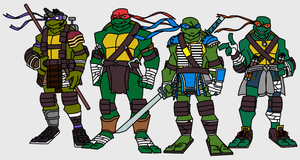 The Ninja Turtles by Death-Driver-5000