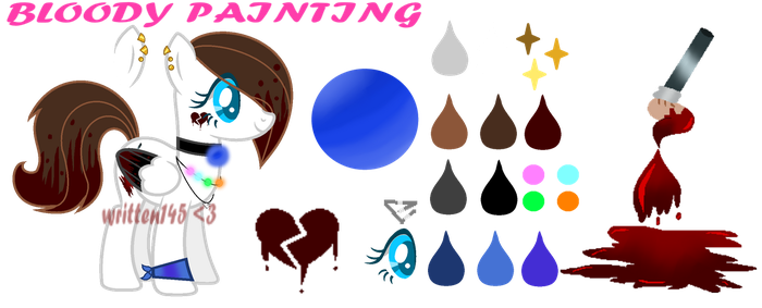 Bloody painting 1.5 by written145