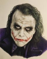 Joker drawing  by AlessandroValli