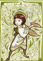 The Girl in Green by Isaia