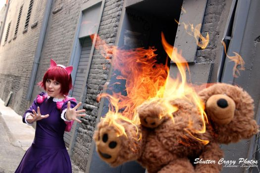 Get 'em, Tibbers! by AngryLittleGnome