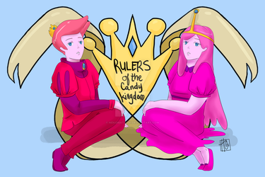 AT :: Rulers of the Candy Kingdom by nekomata091