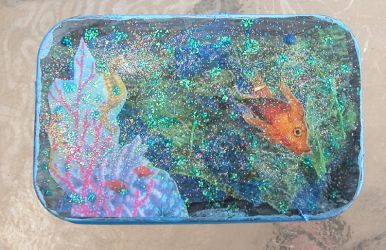 Under the Sea Altered Tin by 16stepper