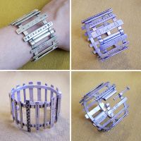 Bracelet from recycled silver by Astalo
