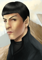 New Spock by WhatICantDo