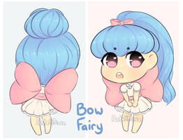 Bow Fairy adopt (open, lowered price) by PastellPrince