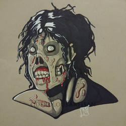 Inktober 2018 Day 6: Drooling by querulousArtisan