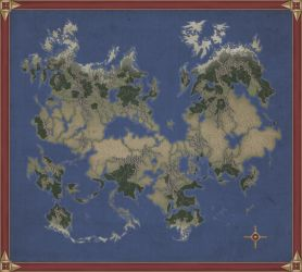 Unfinished map. by Kaloith