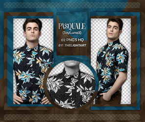 PASQUALE PACK PNG by ThelightartOFC