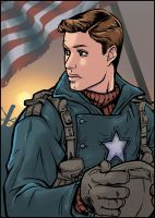 Captain America - As played by by dauntingfire