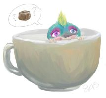 Baby Tooth's Cuppa by artydesk