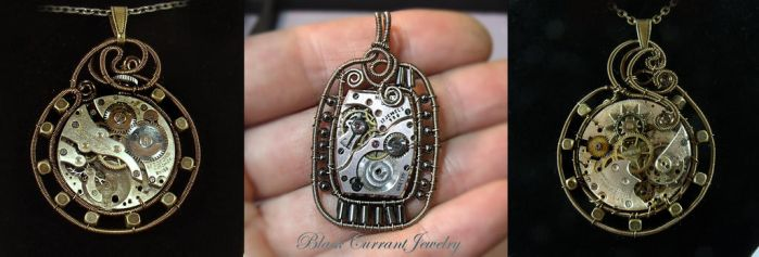 Old Watch Afterlife by blackcurrantjewelry