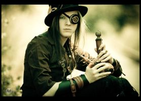 Steampunk V by RemusSirion
