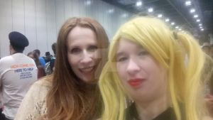 Me and Catherine Tate by Londonexpofan