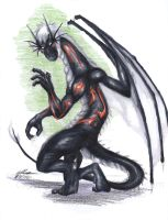 Myan-Dragon'd Commission 7 by Ageaus
