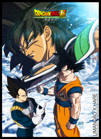 Dragon Ball Super Broly poster 3 by limandao