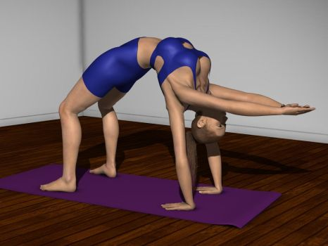 Back Bend 1 by love4arms
