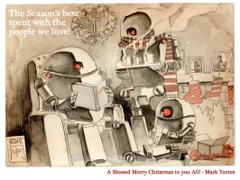 Merry Blessed Christmas 2011 by mytymark