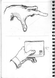 Hand sketchs by SaintPach