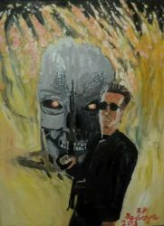 Terminator 2 Judgment Day by HorrorArtistfromCali