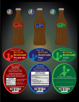 Beverage Labels by WolfTron