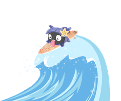 Shellder uses Surf!