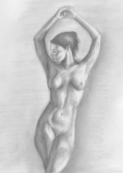 Figure Drawing Attempt by Sauvageau