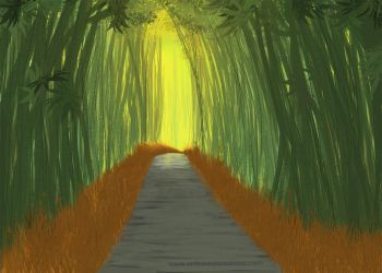 03 Bamboo Forest by KaanaMoonshadow