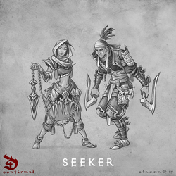 Diablo 4 Seeker by blazan