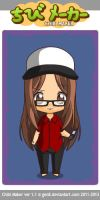 Me as a chibi by LovelyBunny-17