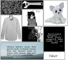 Saber mood board by Natalie-Sophie