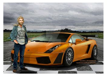 The Hobbit: Lamborghini Gallardo by momofukuu